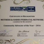 Nominee for the 2016 Community Advocate of the Year